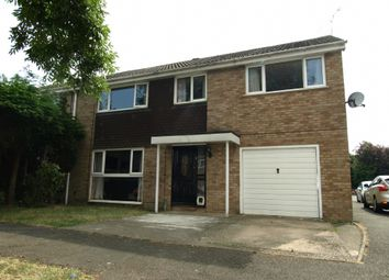 Thumbnail 5 bed semi-detached house for sale in Thurne Close, Newport Pagnell, Buckinghamshire