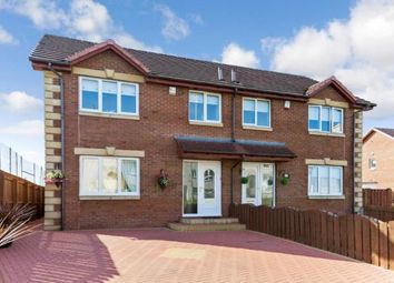Thumbnail 3 bed semi-detached house for sale in Raploch Street, Larkhall, South Lanarkshire