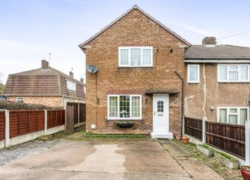 Thumbnail 3 bed semi-detached house for sale in Barnes Road, Calow, Chesterfield, Derbyshire