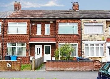 Thumbnail 2 bedroom terraced house for sale in Oldstead Avenue, Hull