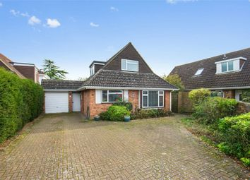 Thumbnail 4 bed detached bungalow for sale in Larkhall Close, Hersham, Walton-On-Thames, Surrey
