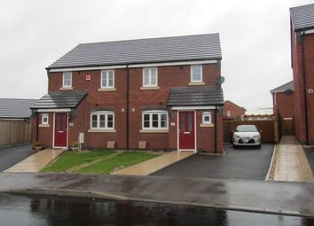Thumbnail 3 bed semi-detached house to rent in Oronsay Close, Hinckley, Leicestershire