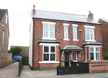 Thumbnail 3 bed semi-detached house to rent in Norman Road, Mapperley Border, Nottingham
