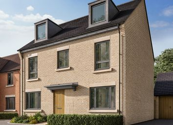 "Thumbnail 5 bed detached house for sale in ""The Fordham"" at Crabtree Road, Cambridge"