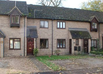 Thumbnail 2 bedroom terraced house to rent in Kingfisher Close, Sawston, Cambridge