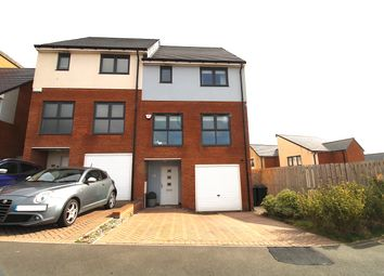 Thumbnail 3 bed town house for sale in Featherwood, Newcastle Upon Tyne