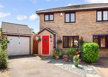 Thumbnail 3 bed semi-detached house for sale in Portman Drive, Billericay, Essex