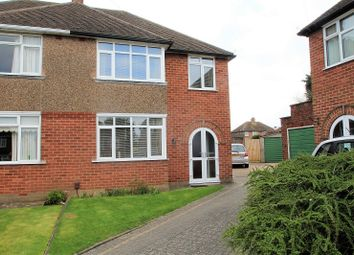 Thumbnail 3 bed semi-detached house for sale in St Catherine's Crescent, Leamington Spa