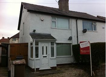 Thumbnail 2 bed semi-detached house to rent in Heather Road, Heswall, Wirral