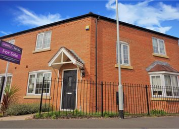 Thumbnail 3 bed semi-detached house for sale in Ferridays Fields, Woodside, Telford
