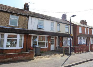 Thumbnail 3 bedroom terraced house for sale in Cornwall Road, Felixstowe