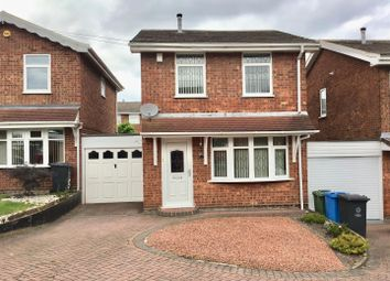 Thumbnail 3 bed property for sale in Raven Close, Walsall