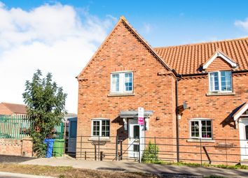 Thumbnail 3 bed semi-detached house for sale in Church Road, Old Leake, Boston