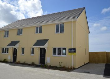 Thumbnail 3 bed semi-detached house for sale in Lowen Praze, Fraddon, St. Columb, Cornwall