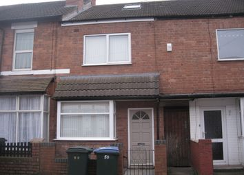 Thumbnail 5 bedroom terraced house to rent in Hamilton Road Room 3, Coventry