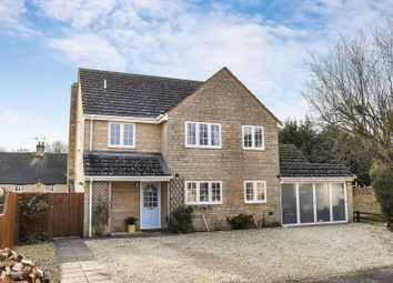Thumbnail 4 bed detached house for sale in Park Close, Middleton Stoney, Bicester