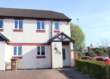 Thumbnail 2 bedroom end terrace house for sale in Goldsmith Gardens, Crownhill, Plymouth