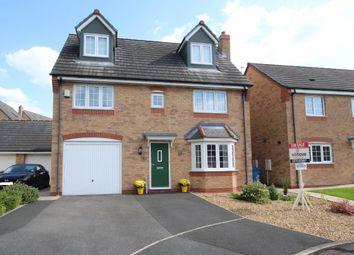 Thumbnail 5 bedroom detached house to rent in Hornbeam Close, Wesham, Preston, Lancashire