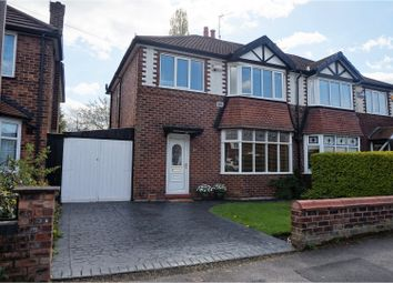 Thumbnail 3 bed semi-detached house for sale in Outwood Drive, Heald Green