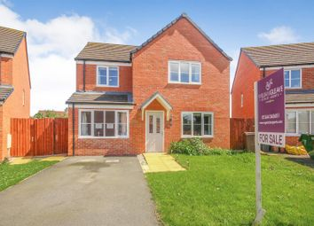 Thumbnail 4 bed detached house for sale in Ffordd Brannan, Buckley
