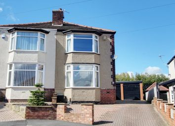 Thumbnail 3 bed semi-detached house for sale in Hurlfield Drive, Sheffield