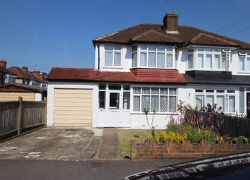 Thumbnail 3 bed semi-detached house for sale in Brocks Drive, Cheam, Sutton