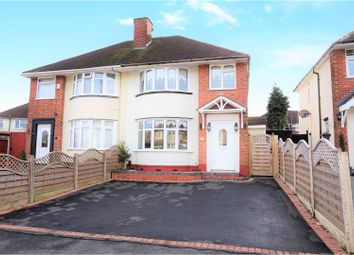 Thumbnail 3 bed semi-detached house for sale in Stanton Avenue, Dudley