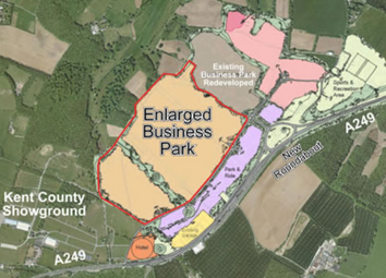 Thumbnail Land for sale in Detling Hill, Maidstone