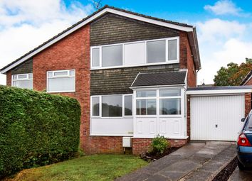 Thumbnail 3 bed semi-detached house for sale in Plas Grug, Caerphilly