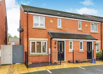 3 bed semi-detached house for sale in The Turrets, Thorpe Street, Raunds, Wellingborough NN9