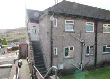 Thumbnail 2 bed flat to rent in Ton Hywel, Trebanog