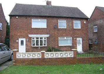Thumbnail 2 bedroom semi-detached house to rent in Horton Avenue, Shiremoor, Newcastle Upon Tyne