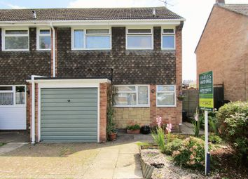Thumbnail 3 bedroom end terrace house for sale in Stour Walk, Swindon