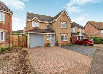 Thumbnail 4 bed detached house for sale in Bryony Way, Attleborough