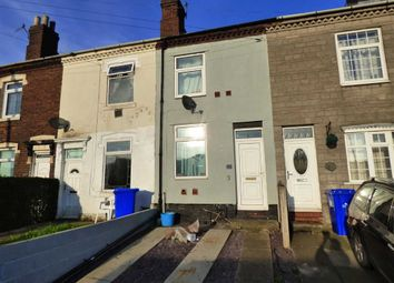 Thumbnail 2 bed terraced house for sale in Uttoxeter Road, Longton, Stoke-On-Trent