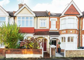 Thumbnail 3 bed terraced house for sale in Leighton Road, London