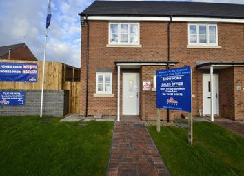Thumbnail 2 bed mews house to rent in Outlands Drive, Hinckley, Leicestershire