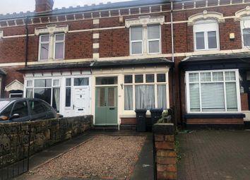 Thumbnail 8 bed terraced house for sale in Vicarage Road, Kings Heath, Birmingham