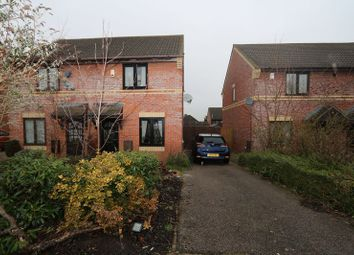 Thumbnail 2 bedroom semi-detached house for sale in Sweetlands Corner, Kents Hill, Milton Keynes