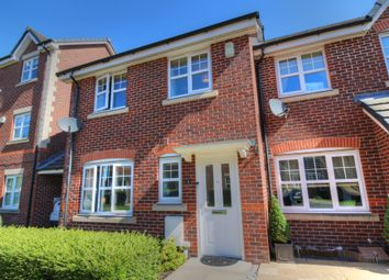 Thumbnail 3 bed town house for sale in Heyden Close, Macclesfield