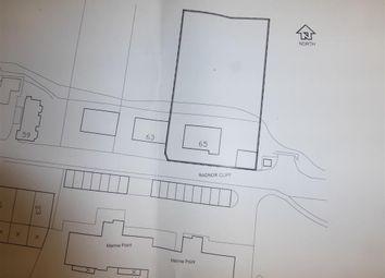 Thumbnail Land for sale in Radnor Cliff, Sandgate, Folkestone, Kent