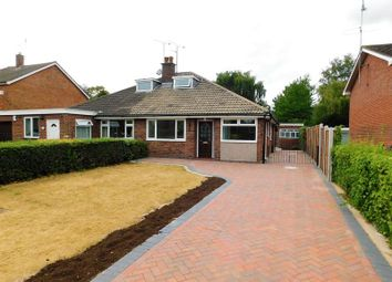Thumbnail 3 bed semi-detached bungalow for sale in Stockton Lane, Weeping Cross, Stafford