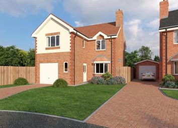 Thumbnail 4 bed detached house for sale in Alltami Heath, Alltami Road, Buckley