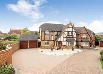 Thumbnail 5 bed detached house for sale in Lynmouth Crescent, Furzton, Milton Keynes, Bucks