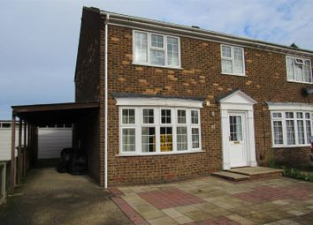 Thumbnail 3 bed semi-detached house for sale in Holmscroft Road, Herne Bay