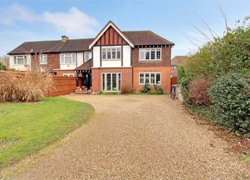Thumbnail 5 bed semi-detached house for sale in Straight Road, Old Windsor, Berkshire