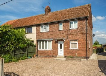 Thumbnail 3 bed semi-detached house to rent in Back Lane, North Duffield, Selby