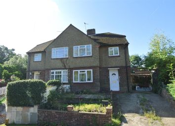 Thumbnail 3 bed semi-detached house for sale in Segrave Close, Weybridge