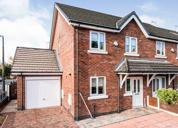 Thumbnail 3 bed semi-detached house for sale in Campbell Road, Swinton, Manchester, Greater Manchester