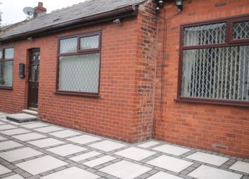 Thumbnail 2 bed detached bungalow to rent in Brook Street, Swinton, Manchester